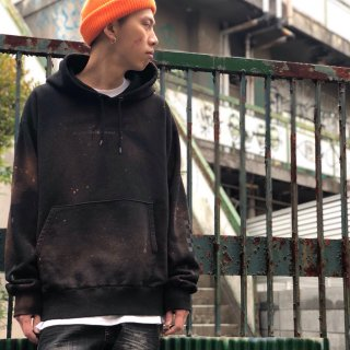 【LEFLAH】spray discharge parka(BLK)
