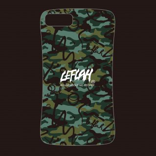 【LEFLAH】brush camo rubber case(iPhone 6.7.8用)