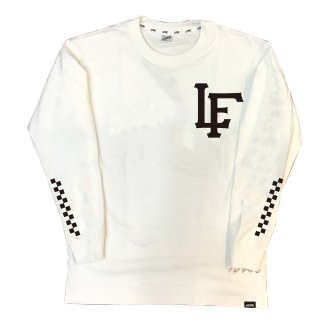 【LEFLAH】LF team logo long tee(WHT)