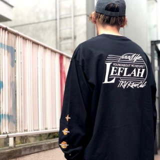 【LEFLAH】BB long tee(BLK)
