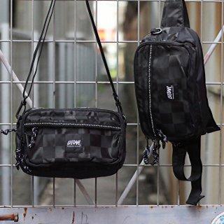 【LEFLAH】2way bum bag(BLK)