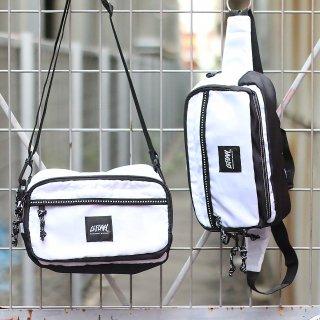 【LEFLAH】2way bum bag(WHT)