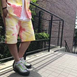 <img class='new_mark_img1' src='//img.shop-pro.jp/img/new/icons1.gif' style='border:none;display:inline;margin:0px;padding:0px;width:auto;' />【LEFLAH】tie-dye short pants(YEL)
