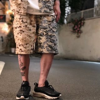 <img class='new_mark_img1' src='//img.shop-pro.jp/img/new/icons1.gif' style='border:none;display:inline;margin:0px;padding:0px;width:auto;' />【LEFLAH】digital camo bi-color short pants (GRY)