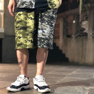 <img class='new_mark_img1' src='https://img.shop-pro.jp/img/new/icons1.gif' style='border:none;display:inline;margin:0px;padding:0px;width:auto;' />【LEFLAH】digital camo bi-color short pants (GRN)