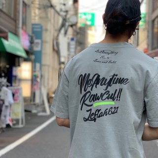 【LEFLAH】anytime pigment tee(GRY)
