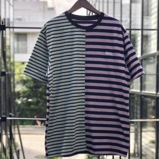 【LEFLAH】separate border Tee(PPL/SAX)