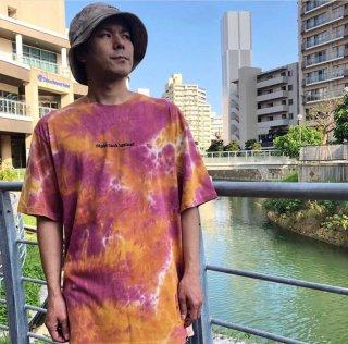 【LEFLAH】tie-dye tee(PPL)