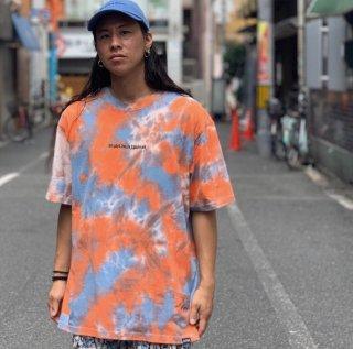 【LEFLAH】tie-dye tee(BLU)