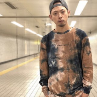 <img class='new_mark_img1' src='https://img.shop-pro.jp/img/new/icons1.gif' style='border:none;display:inline;margin:0px;padding:0px;width:auto;' />【LEFLAH】tie dye long tee(BRW)