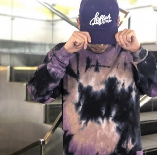 <img class='new_mark_img1' src='https://img.shop-pro.jp/img/new/icons1.gif' style='border:none;display:inline;margin:0px;padding:0px;width:auto;' />【LEFLAH】tie dye long tee(PPL)
