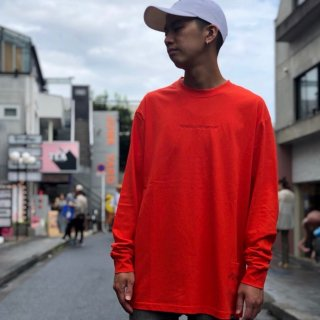 <img class='new_mark_img1' src='//img.shop-pro.jp/img/new/icons1.gif' style='border:none;display:inline;margin:0px;padding:0px;width:auto;' />【LEFLAH】embroidery color long tee(RED)