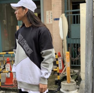 【LEFLAH】brace switch sweat(BLK)