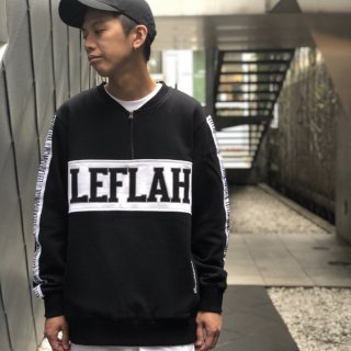 <img class='new_mark_img1' src='https://img.shop-pro.jp/img/new/icons1.gif' style='border:none;display:inline;margin:0px;padding:0px;width:auto;' />【LEFLAH】zip henry  sweat(BLK)