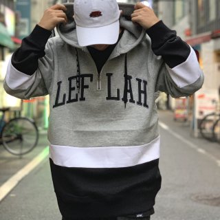 【LEFLAH】switching zip parka(GRY)