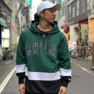 【LEFLAH】switching zip parka(GRN)
