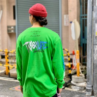 <img class='new_mark_img1' src='https://img.shop-pro.jp/img/new/icons1.gif' style='border:none;display:inline;margin:0px;padding:0px;width:auto;' />【LEFLAH】 621 life long tee(GRN)