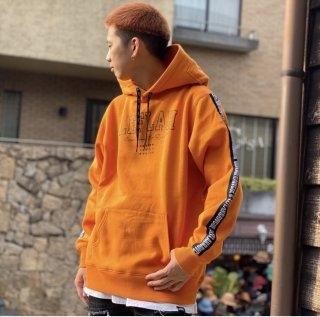 <img class='new_mark_img1' src='https://img.shop-pro.jp/img/new/icons1.gif' style='border:none;display:inline;margin:0px;padding:0px;width:auto;' />【LEFLAH】college logo parka(ORG)