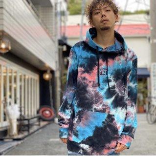 【LEFLAH】tie-dye parka(NVY)