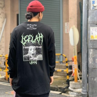 <img class='new_mark_img1' src='https://img.shop-pro.jp/img/new/icons1.gif' style='border:none;display:inline;margin:0px;padding:0px;width:auto;' />【LEFLAH】 falls long tee(BLK)