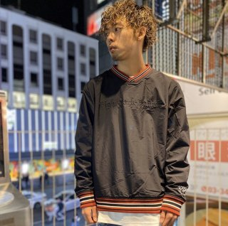 <img class='new_mark_img1' src='https://img.shop-pro.jp/img/new/icons1.gif' style='border:none;display:inline;margin:0px;padding:0px;width:auto;' />【LEFLAH】nylon pullover jacket(BLK)