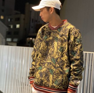 <img class='new_mark_img1' src='https://img.shop-pro.jp/img/new/icons1.gif' style='border:none;display:inline;margin:0px;padding:0px;width:auto;' />【LEFLAH】nylon pullover jacket(CAMO)