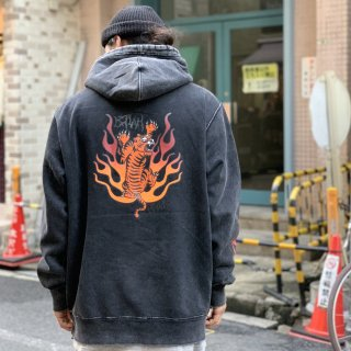 <img class='new_mark_img1' src='https://img.shop-pro.jp/img/new/icons1.gif' style='border:none;display:inline;margin:0px;padding:0px;width:auto;' />【LEFLAH】tiger parka(BLK)