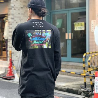 <img class='new_mark_img1' src='https://img.shop-pro.jp/img/new/icons1.gif' style='border:none;display:inline;margin:0px;padding:0px;width:auto;' />【LEFLAH】neon long tee(BLK)