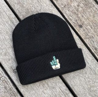 <img class='new_mark_img1' src='https://img.shop-pro.jp/img/new/icons1.gif' style='border:none;display:inline;margin:0px;padding:0px;width:auto;' />【LEFLAH】finger knit cap(BLK)