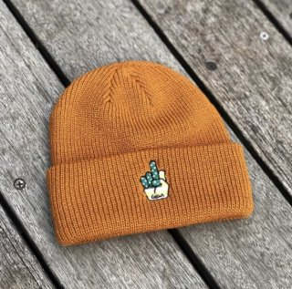<img class='new_mark_img1' src='https://img.shop-pro.jp/img/new/icons1.gif' style='border:none;display:inline;margin:0px;padding:0px;width:auto;' />【LEFLAH】finger knit cap(BRW)