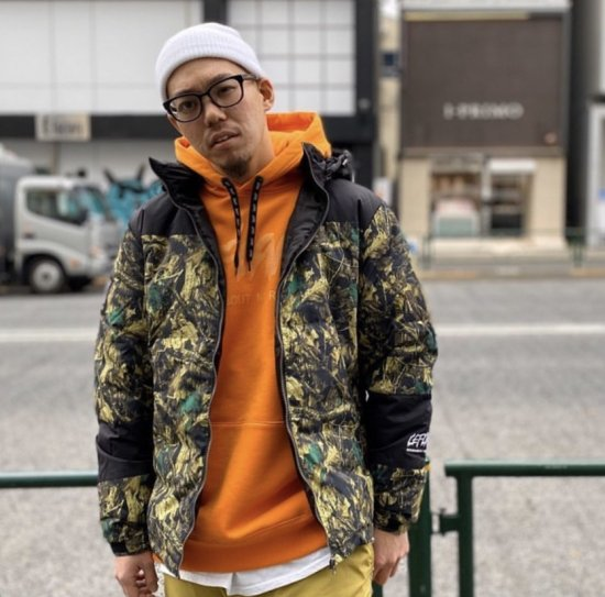 <img class='new_mark_img1' src='https://img.shop-pro.jp/img/new/icons1.gif' style='border:none;display:inline;margin:0px;padding:0px;width:auto;' />【LEFLAH】2way nylon down jacket(CAMO)
