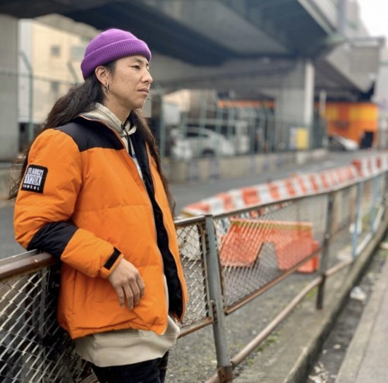<img class='new_mark_img1' src='https://img.shop-pro.jp/img/new/icons1.gif' style='border:none;display:inline;margin:0px;padding:0px;width:auto;' />【LEFLAH】2way nylon down jacket(ORG)