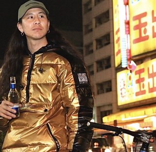 <img class='new_mark_img1' src='https://img.shop-pro.jp/img/new/icons1.gif' style='border:none;display:inline;margin:0px;padding:0px;width:auto;' />【LEFLAH】Pullover down jacket(GOLD)
