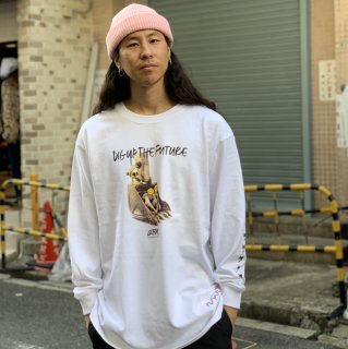 <img class='new_mark_img1' src='https://img.shop-pro.jp/img/new/icons1.gif' style='border:none;display:inline;margin:0px;padding:0px;width:auto;' />【LEFLAH】dig up long tee(WHT)