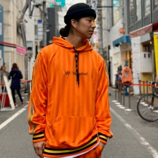 <img class='new_mark_img1' src='https://img.shop-pro.jp/img/new/icons1.gif' style='border:none;display:inline;margin:0px;padding:0px;width:auto;' />【LEFLAH】pullover jersey parka(ORG)