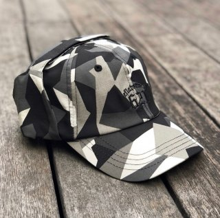 【LEFLAH】camo hunting cap(WHT)