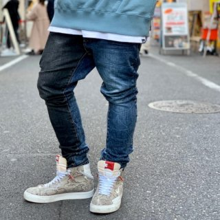 <img class='new_mark_img1' src='https://img.shop-pro.jp/img/new/icons1.gif' style='border:none;display:inline;margin:0px;padding:0px;width:auto;' />【LEFLAH】remake skinny denim(BLU)