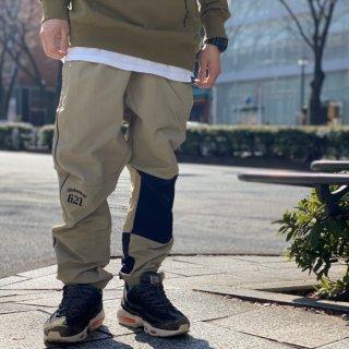 【LEFLAH】taslan nylon jogger pants(BEG)
