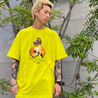 【LEFLAH】beat a march tee(YEL)