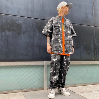 <img class='new_mark_img1' src='https://img.shop-pro.jp/img/new/icons1.gif' style='border:none;display:inline;margin:0px;padding:0px;width:auto;' />【LEFLAH】brush camo easy pants(WHT)