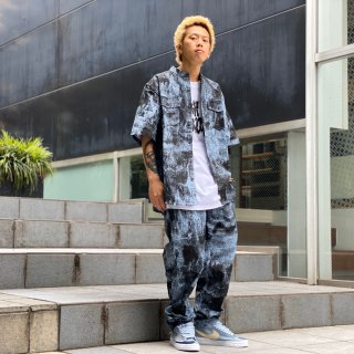 <img class='new_mark_img1' src='https://img.shop-pro.jp/img/new/icons1.gif' style='border:none;display:inline;margin:0px;padding:0px;width:auto;' />【LEFLAH】tie-dye easy pants(BLU)