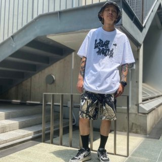 <img class='new_mark_img1' src='https://img.shop-pro.jp/img/new/icons1.gif' style='border:none;display:inline;margin:0px;padding:0px;width:auto;' />【LEFLAH】leaf pattern short pants(GRY)