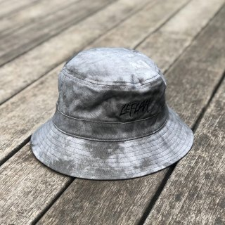 <img class='new_mark_img1' src='https://img.shop-pro.jp/img/new/icons1.gif' style='border:none;display:inline;margin:0px;padding:0px;width:auto;' />【LEFLAH】madara tie dye bucket hat(GRY)