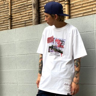 <img class='new_mark_img1' src='https://img.shop-pro.jp/img/new/icons1.gif' style='border:none;display:inline;margin:0px;padding:0px;width:auto;' />【LEFLAH】discovered tee(WHT)