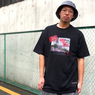 <img class='new_mark_img1' src='https://img.shop-pro.jp/img/new/icons1.gif' style='border:none;display:inline;margin:0px;padding:0px;width:auto;' />【LEFLAH】discovered tee(BLK)