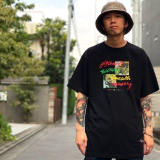 <img class='new_mark_img1' src='https://img.shop-pro.jp/img/new/icons1.gif' style='border:none;display:inline;margin:0px;padding:0px;width:auto;' />【LEFLAH】chew up tee(BLK)