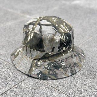 【LEFLAH】leaf pattern bucket hat(KAH)