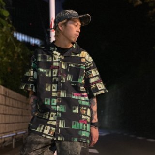 <img class='new_mark_img1' src='https://img.shop-pro.jp/img/new/icons1.gif' style='border:none;display:inline;margin:0px;padding:0px;width:auto;' />【LEFLAH】home pattern aloha shirt(GRN)