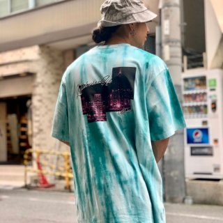 <img class='new_mark_img1' src='https://img.shop-pro.jp/img/new/icons1.gif' style='border:none;display:inline;margin:0px;padding:0px;width:auto;' />【LEFLAH】town tie dye tee(GRN)