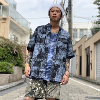 <img class='new_mark_img1' src='https://img.shop-pro.jp/img/new/icons1.gif' style='border:none;display:inline;margin:0px;padding:0px;width:auto;' />【LEFLAH】tie dye tank top(NVY)
